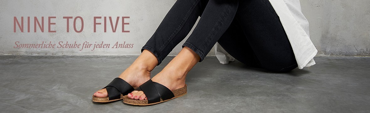 Sommerliche Schuhe für jeden Anlass