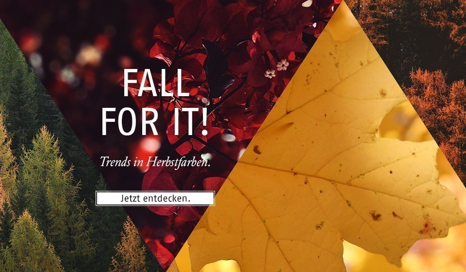 Trends in Herbstfarben