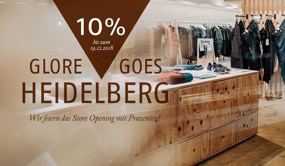 Wir feiern das Store Opening mit 10%!