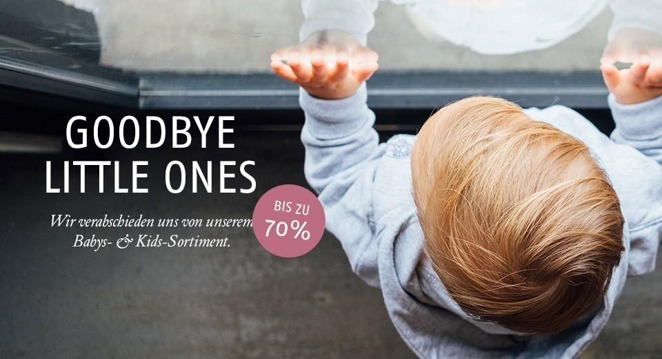 Wir verabschieden uns von unserem Babys- & Kids-Sortiment.
