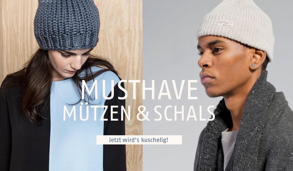 Bio Mützen und Schals aus Wolle