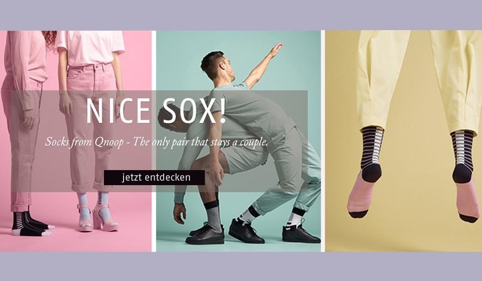 Neue Socken von Qnoop
