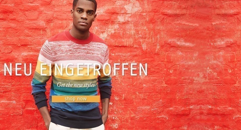 Entdecke die neue nachhaltige Menswear