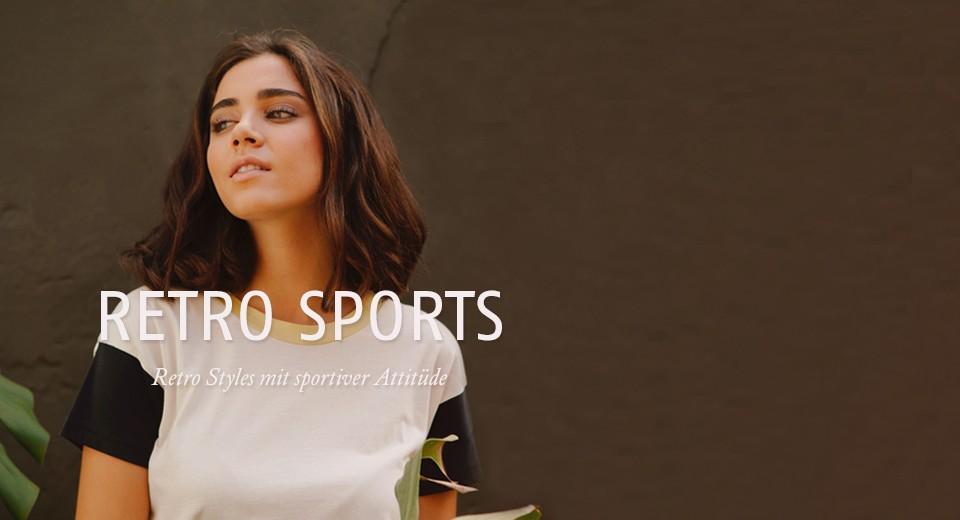 Retro Styles mit sportiver Attitüde