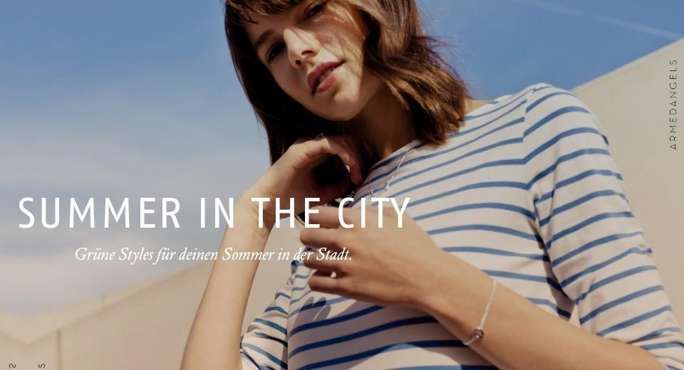 Grüne Styles für deinen Sommer in der Stadt