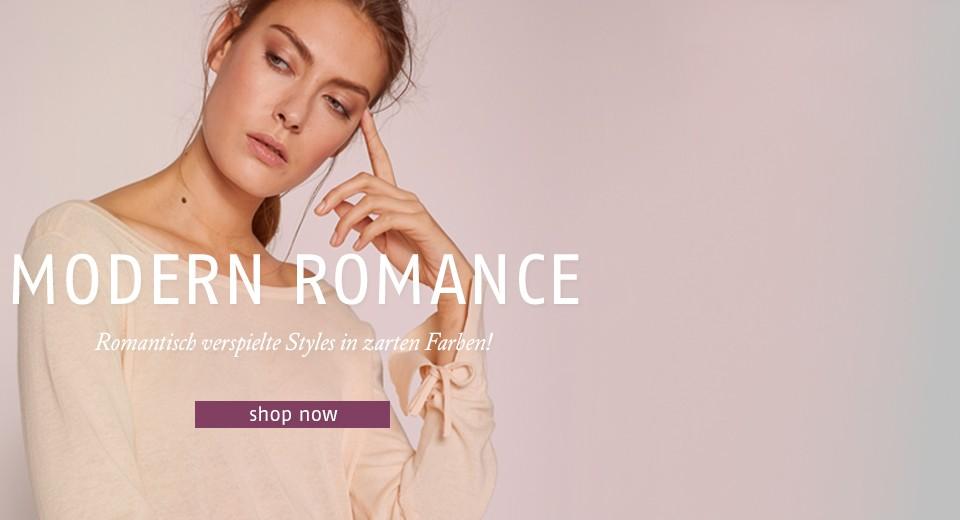 Romantisch verspielte Styles in zarten Farben