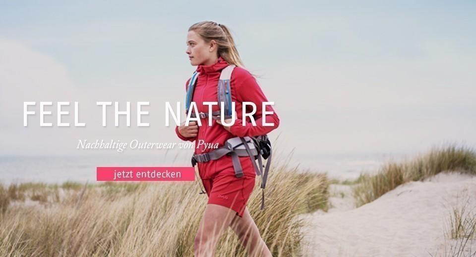 Jetzt nachhaltige Outdoorbekleidung von Pyua entdecken