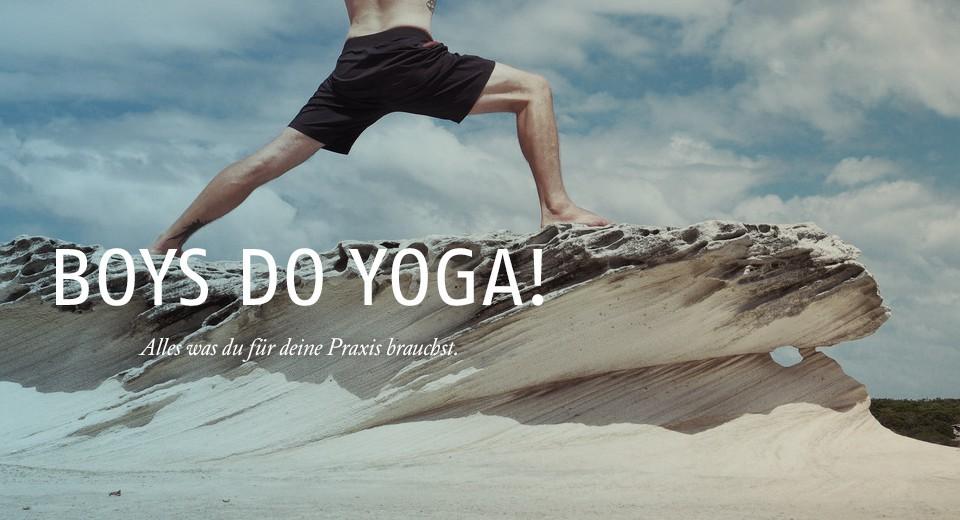 Yogamode für den Mann
