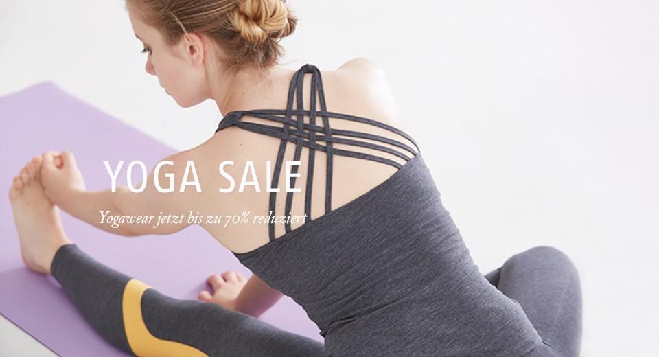 Yogawear bis zu 70% reduziert!