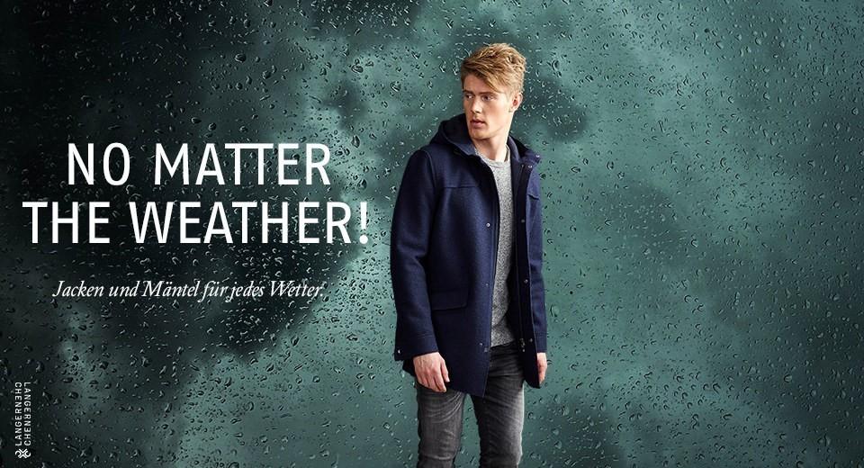 Jacken und Mäntel für jedes Wetter