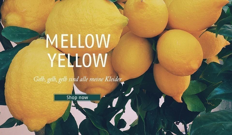Gelb, gelb, gelb sind alle meine Kleider