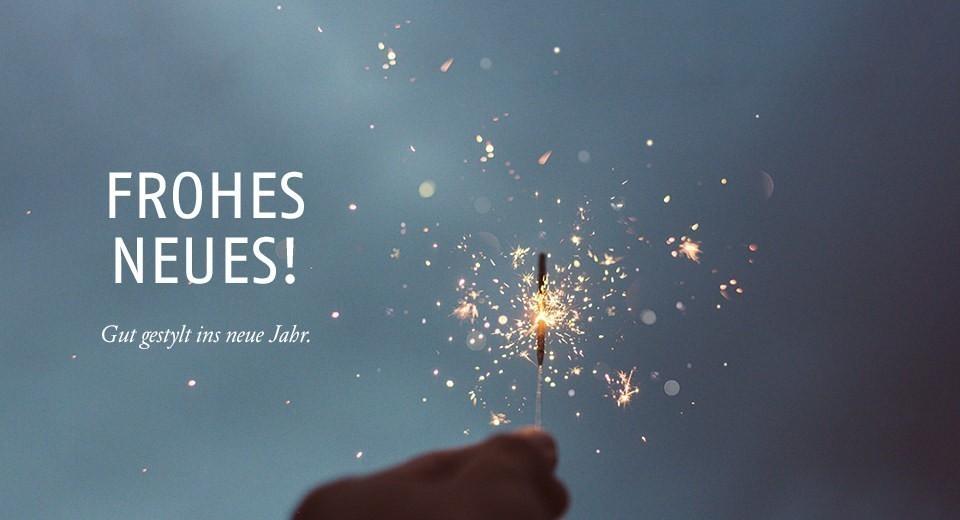 Gut gestylt ins neue Jahr