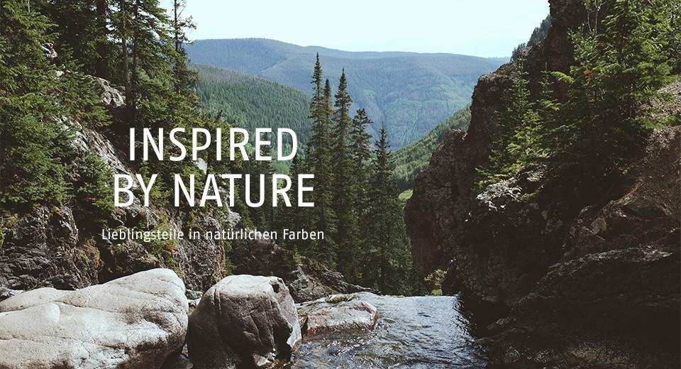 Lieblingsteile in natürlichen Farben