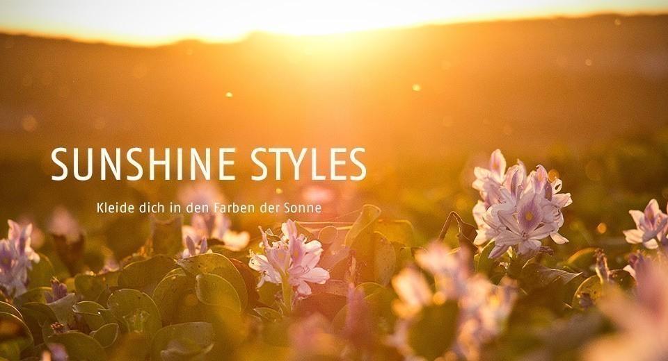 Kleide dich in den Farben der Sonne