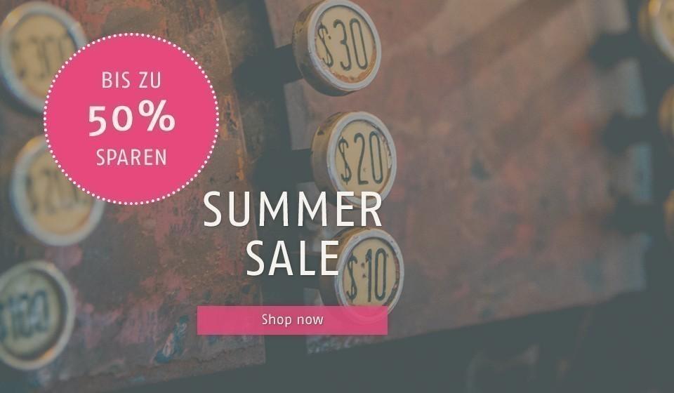 Summer Sale 50%