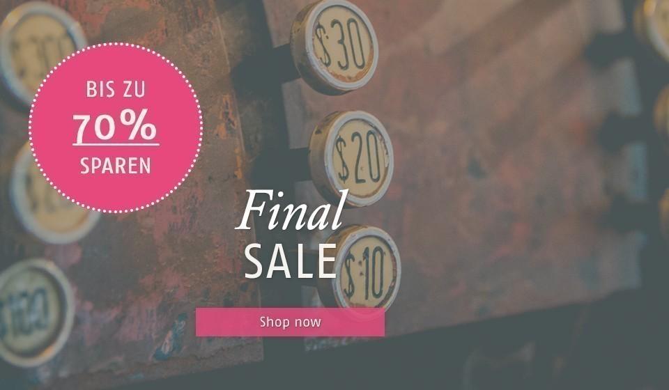 Summer Sale 70% Rabatt