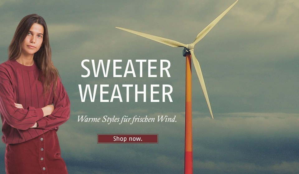 Warme Styles für frischen Wind.