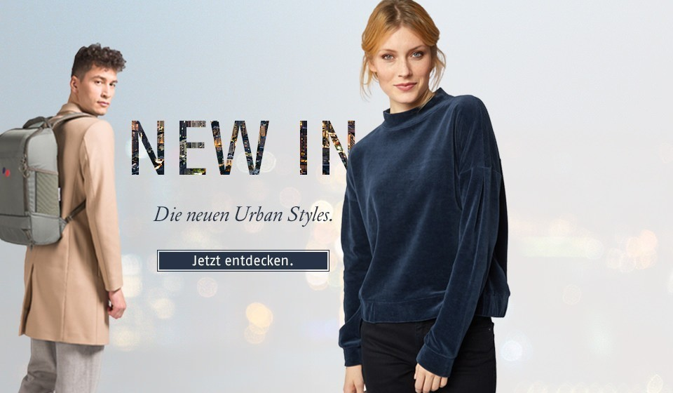 New In - Die neuen Urban Styles