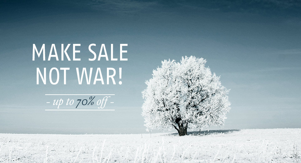 Winter Sale 70%