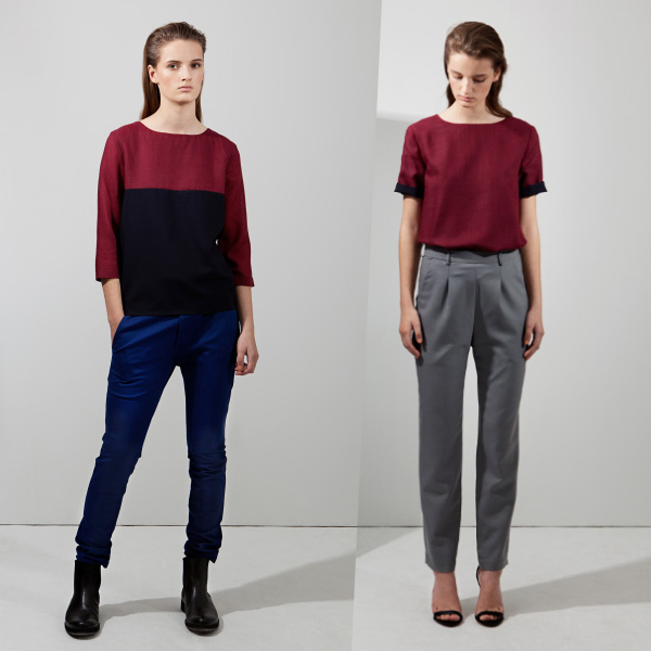 Block Shirt und Classic Trousers